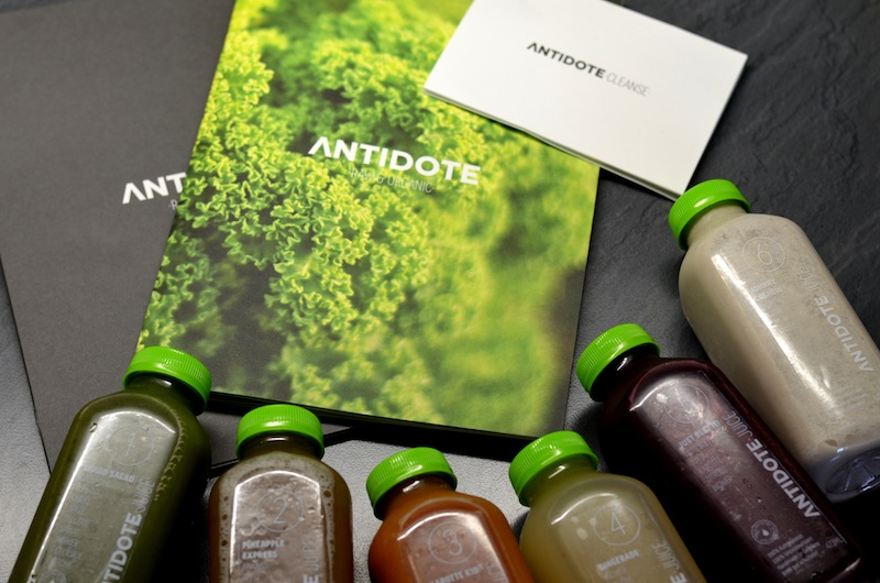 my very first juice cleanse with antidote