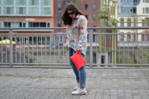 Be sure to wear some flowers – ein Look mit Blumenmuster