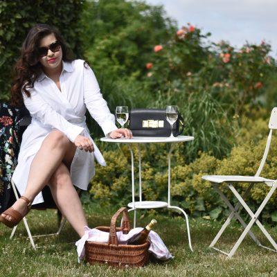 Sommer-Lookbook: ein weißes Kleid gehört zum Sommer wie Sonnencreme