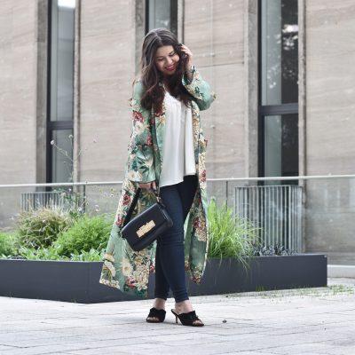 Outfit: Zara Kimono mit Blumenprint – mein Lieblingstrend 2017