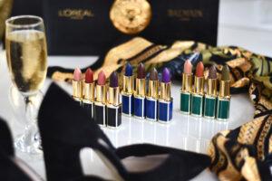 L'Oréal Paris x Balmain Lippenstift Kollektion – die Farben & Swatches