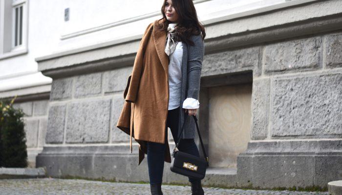 Outfit: Ein Mix aus Grau trifft auf den ewigen Sommer