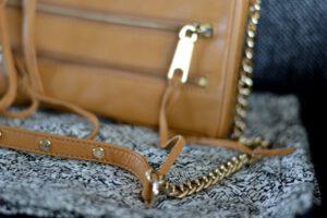 New in: Rebecca Minkoff Mini 5 Zip Bag in kräftigem Braun