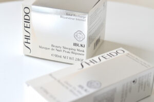 Shiseido IBUKI Neuheiten – Sleeping Mask & Quick Fix Mist