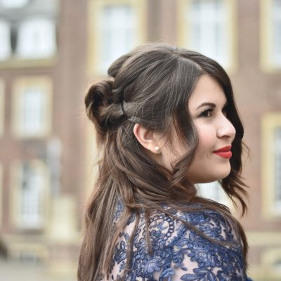Outfit: Mit Spitze und Tüll zum ersten Mal auf der Berlinale
