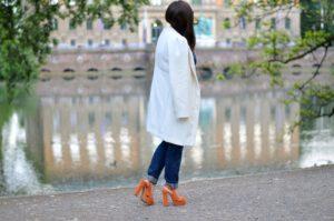 Time is ready – sommerlicher Frühlingslook in Orange