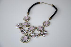 choker blogger chunky necklace