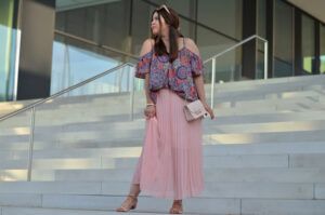 outfit: when ethno vibes meet pastell colors