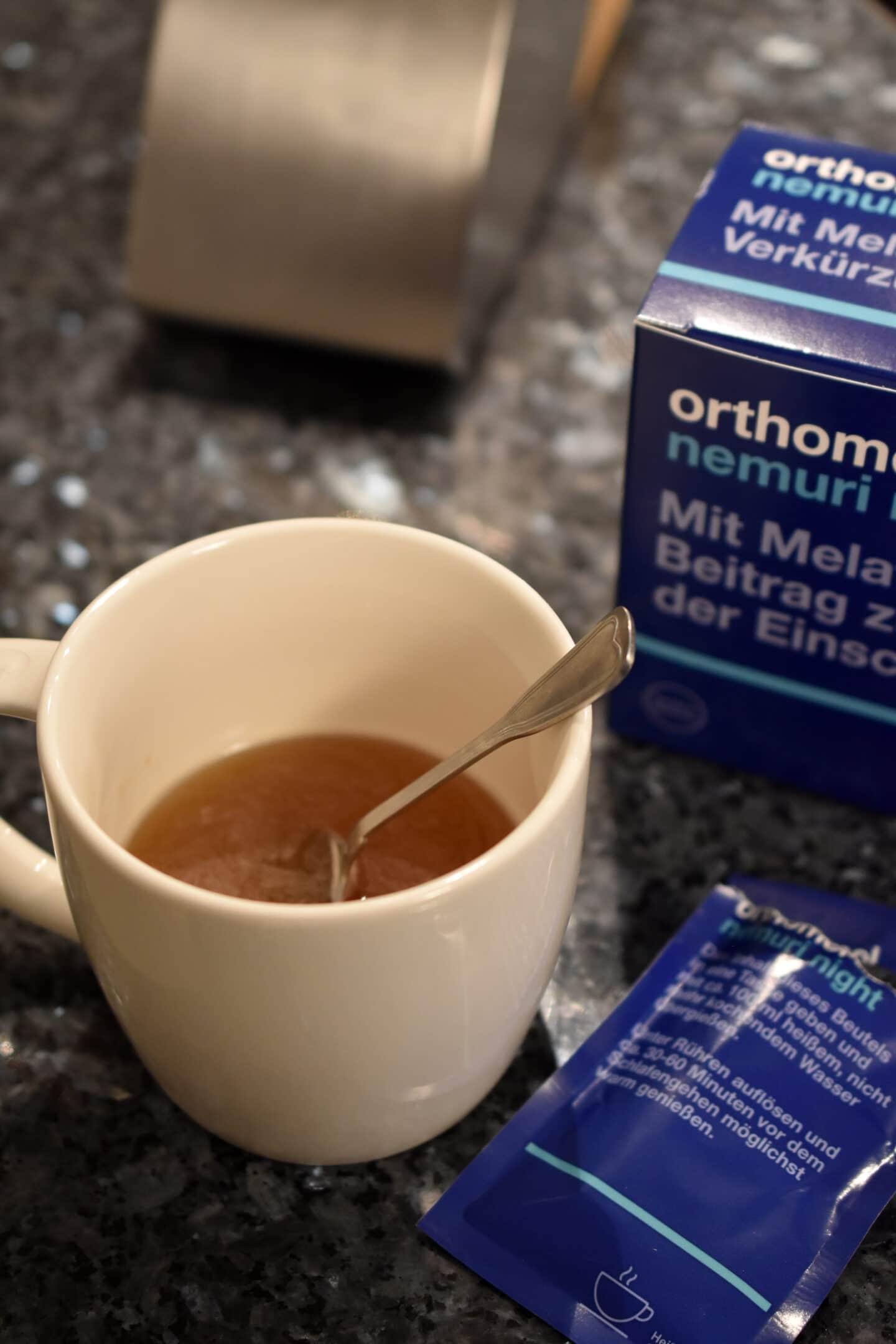 Besser einschlafen mit Orthomol Nemuri Night - meine Tipps & Tricks