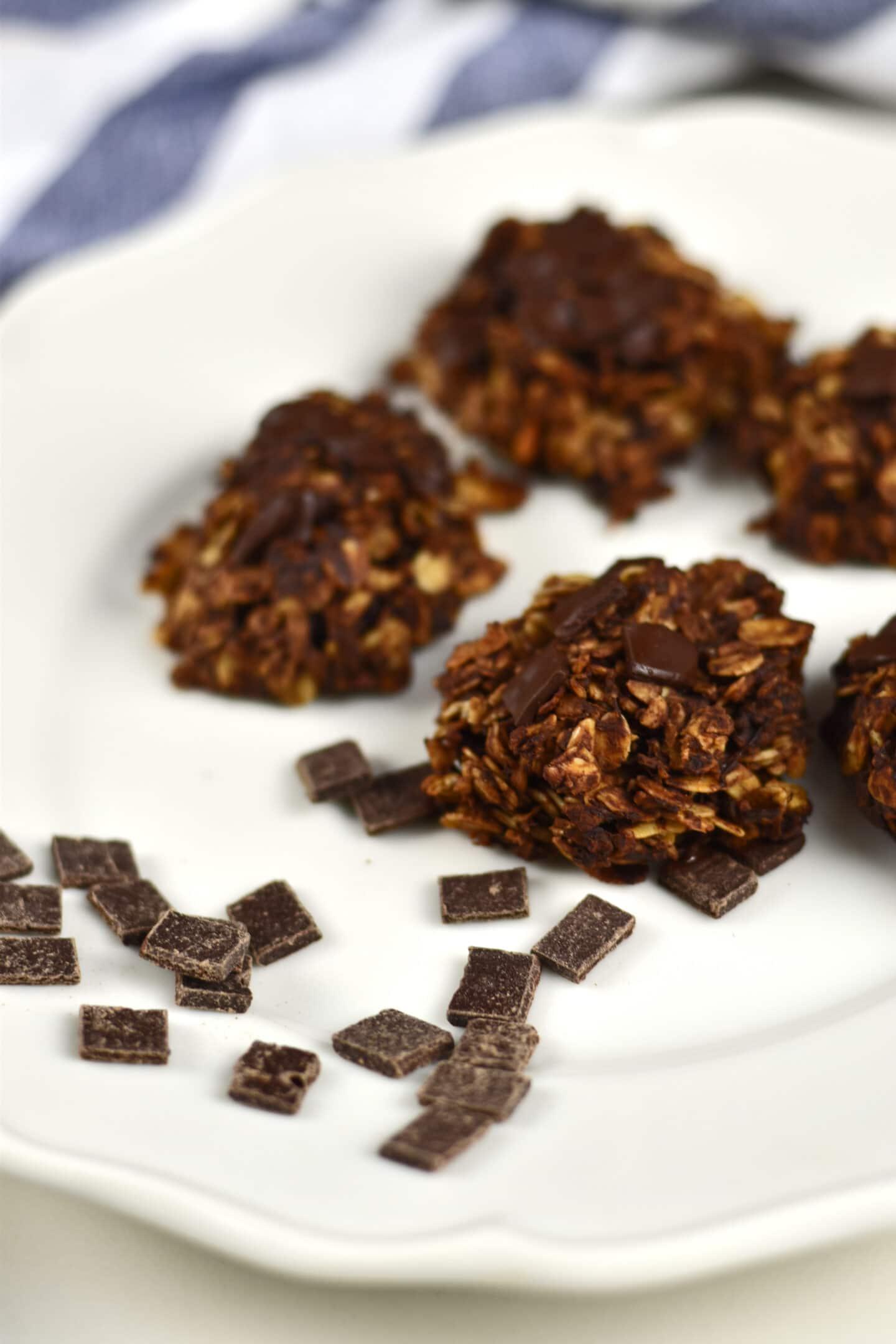 Hafer Schokoladen Kekse