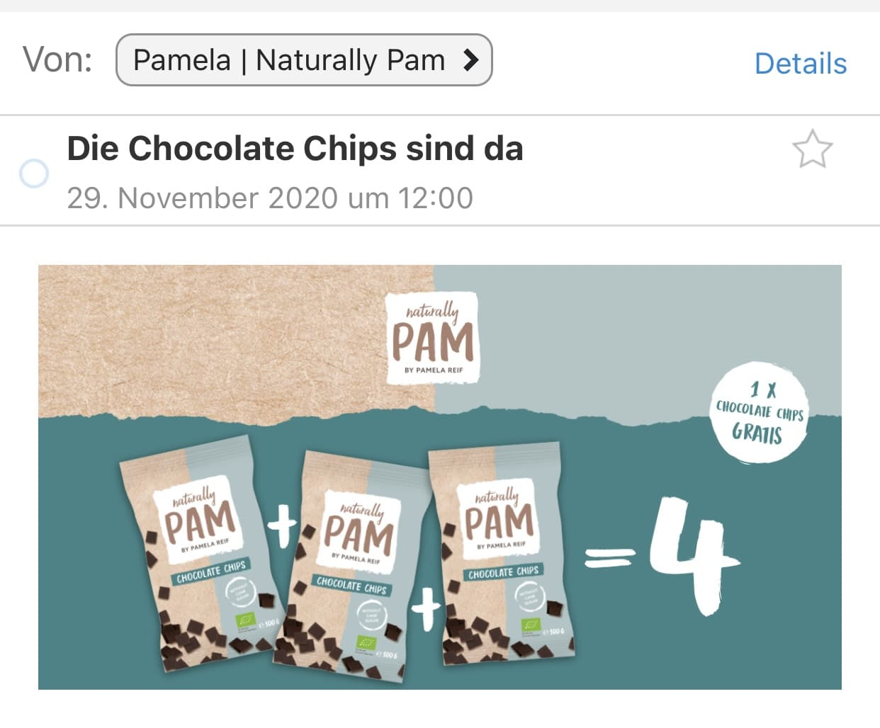 Pamela Reif Chocolate Chips