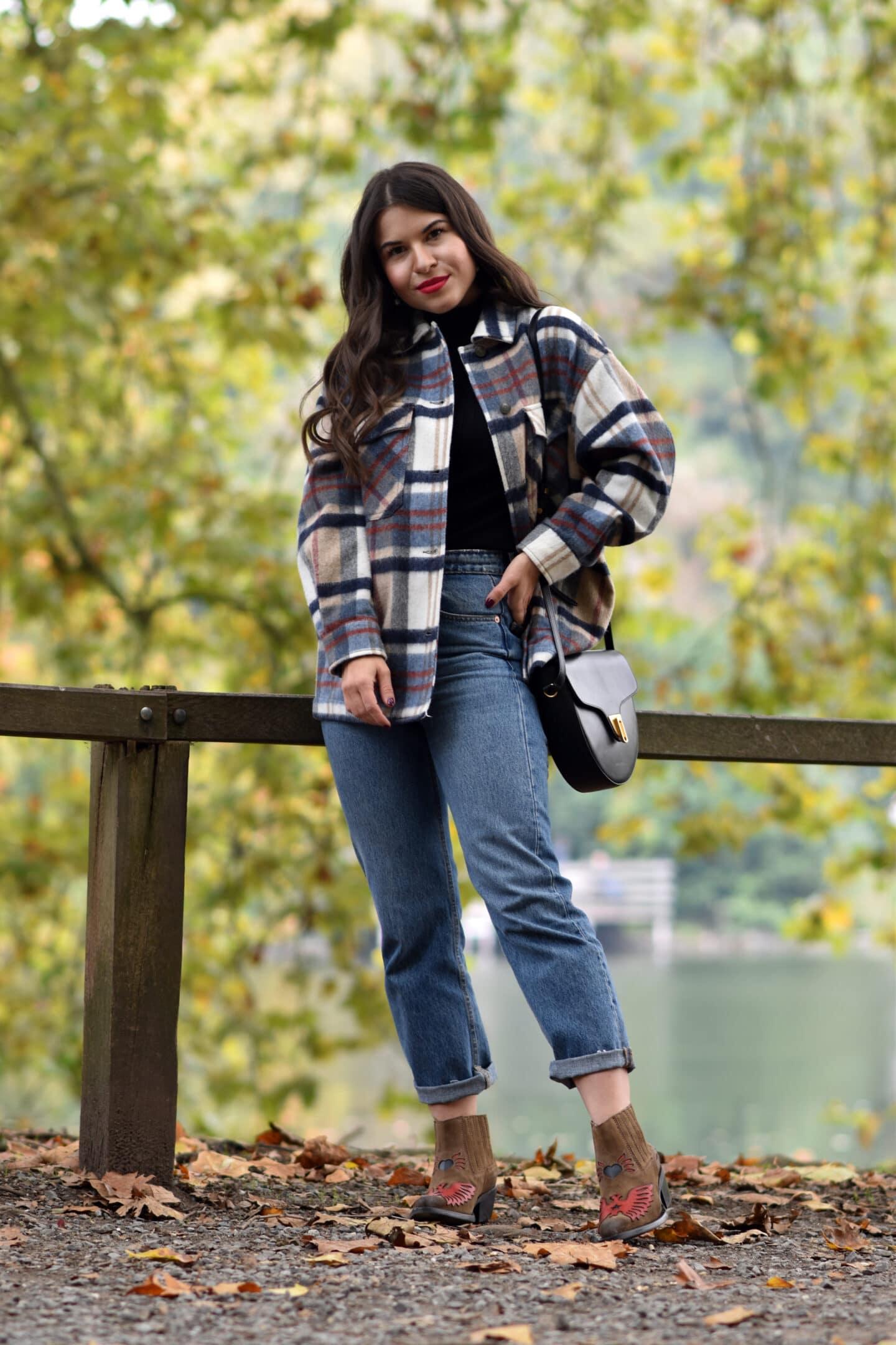 Shacket: Die Trend-Hemdjacke mit lässigen Streetstyle im Herbst