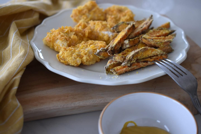 Fish & Chips - der englische Klassiker im kalorienarmen, gesunden Gewand