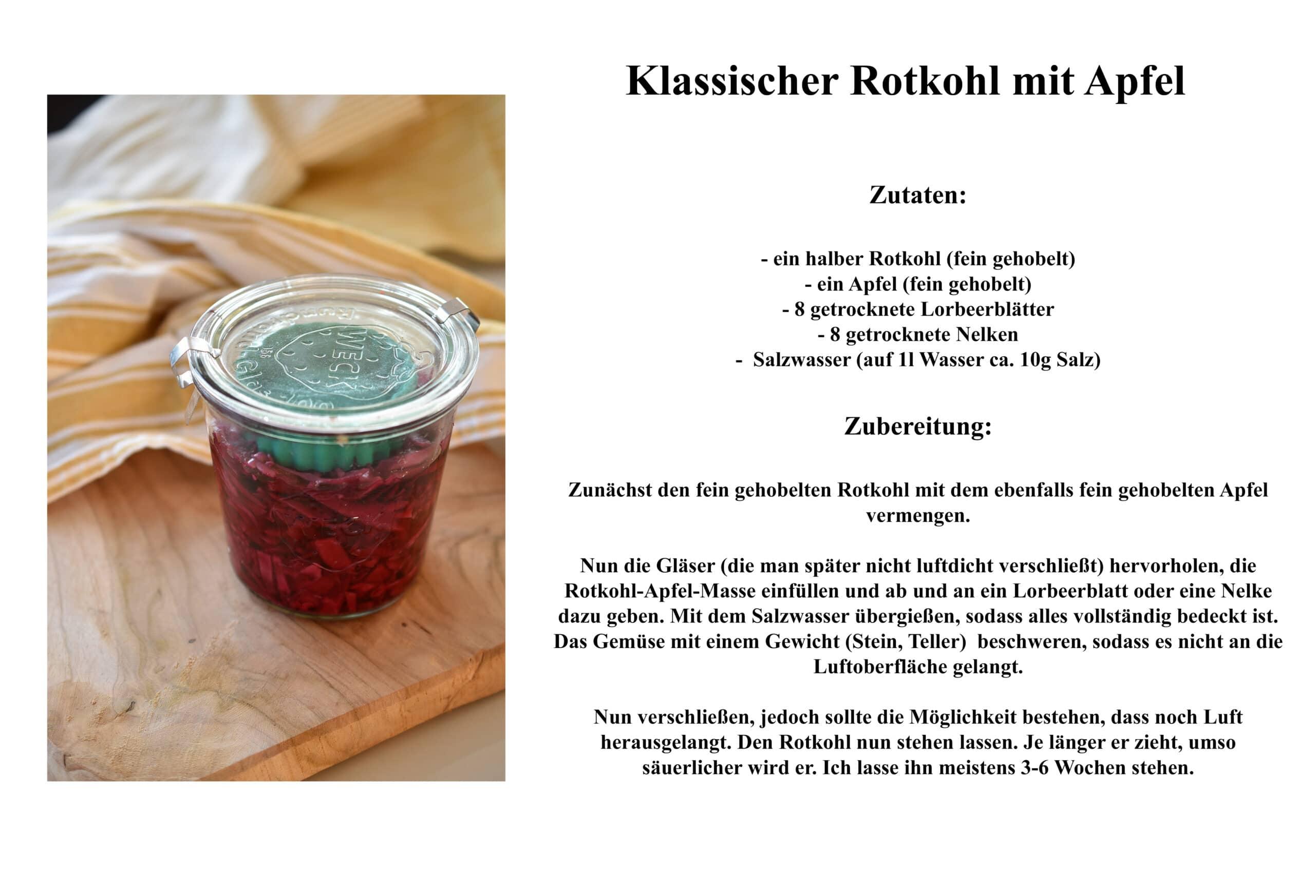 Rezept Rotkohl