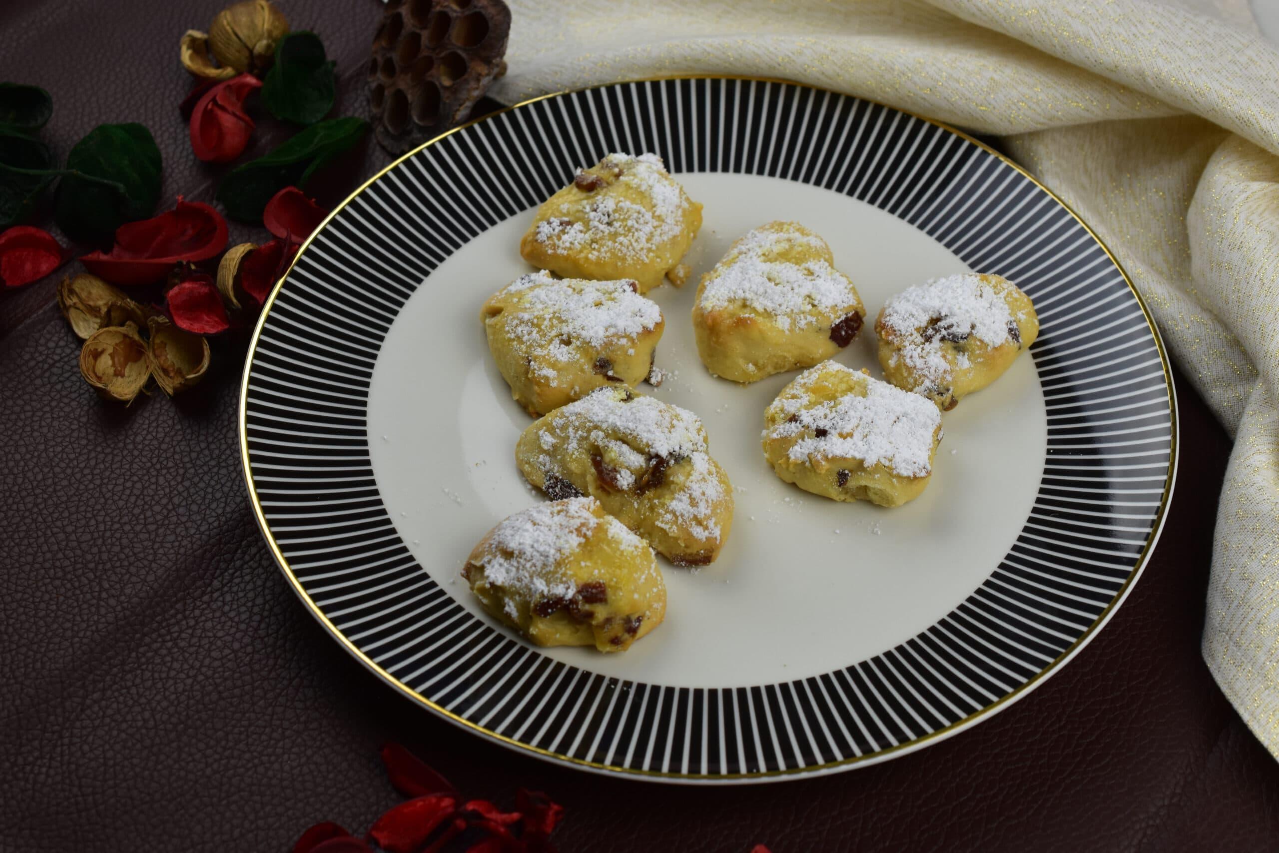 Stollenhappen - der kalorienarme Christstollengenuss zu Weihnachten