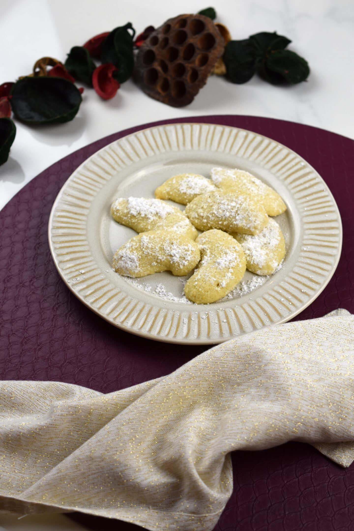 Vanillekipferl - die klassischen Weihnachtskekse kalorienarm nachbacken