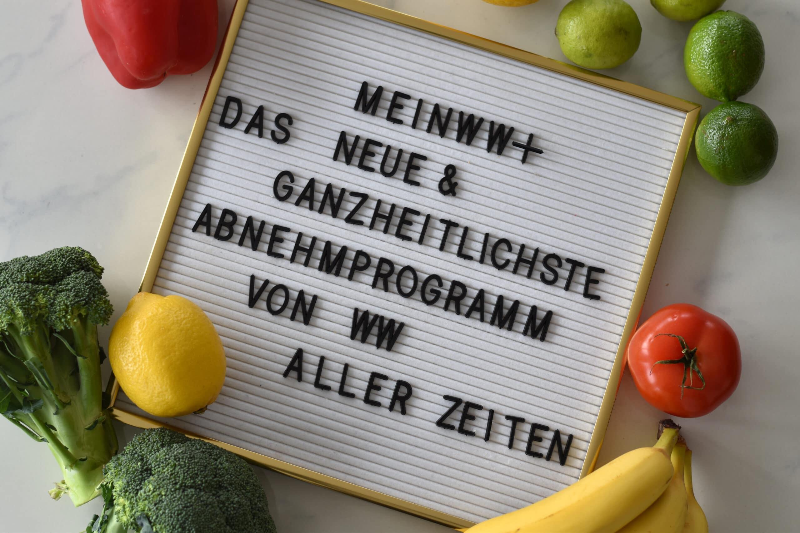 meinWW+ - das neue Abnehmprogramm 2021 & meine Erfahrungen