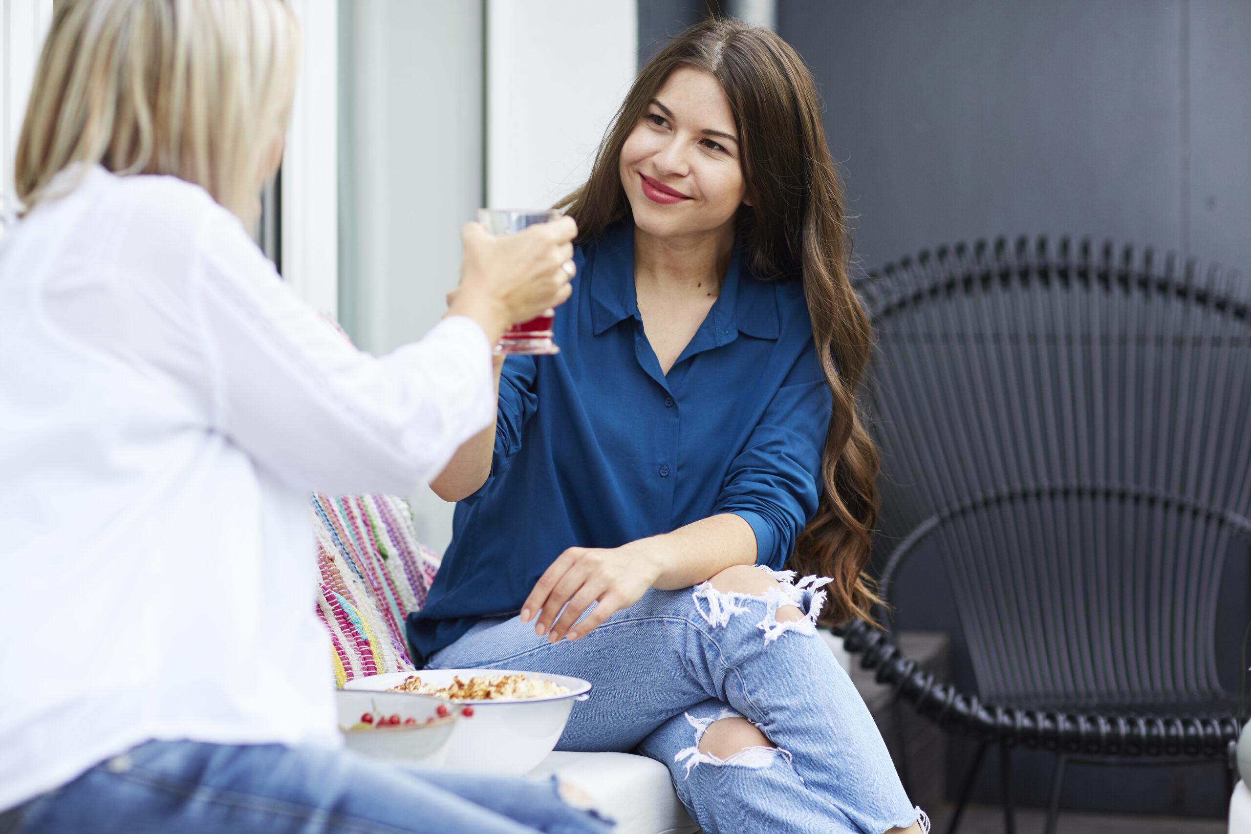 Auswärts Essen bei Freunden während der Abnahme - Tipps & Tricks