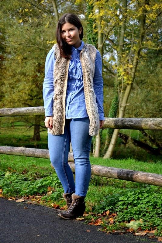 Oh so blue! Mit einem Cozy Look dem Herbst-Blues entgegen