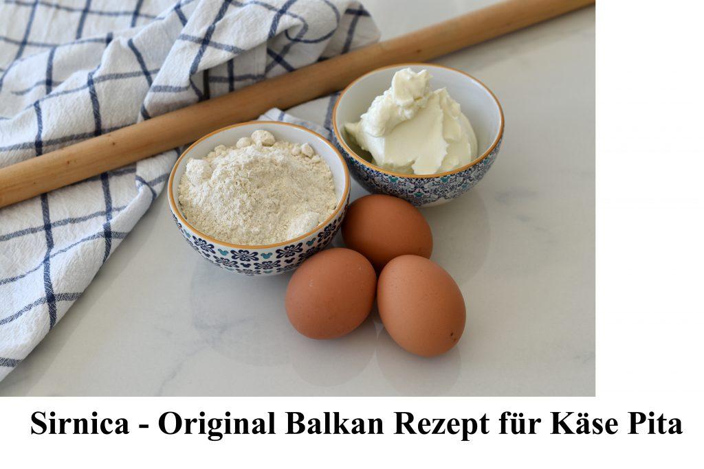 Rezept Käse Pita Sirnica
