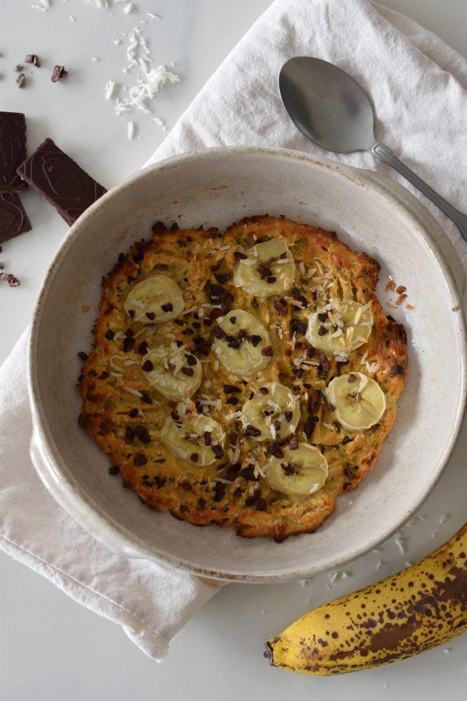 Warmer Kokos-Bananen-Kuchen von Pamela Reif