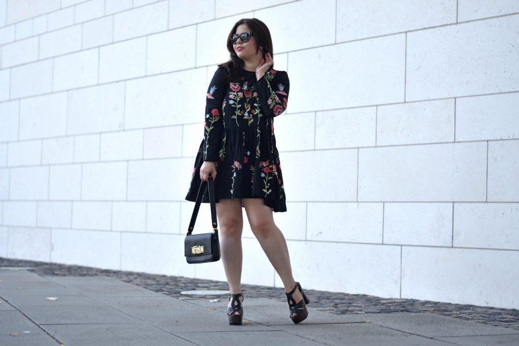 Blumen-Kleid von Zara