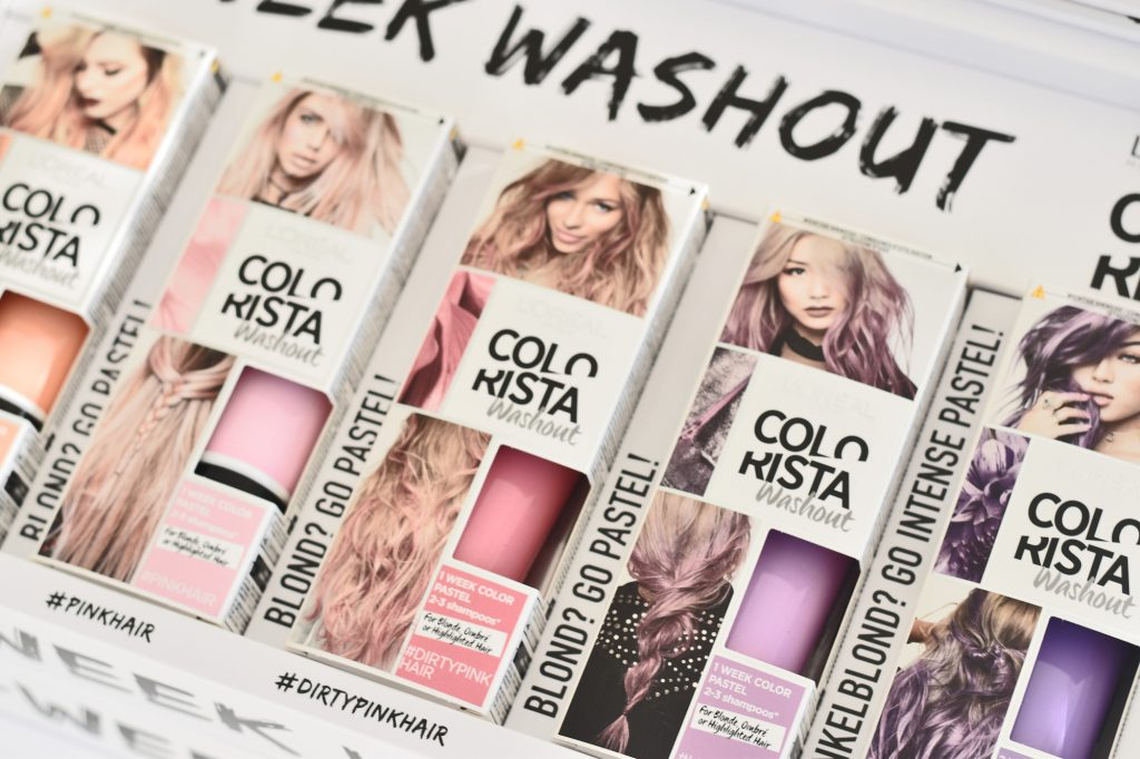 Bunte haarfarbe dm