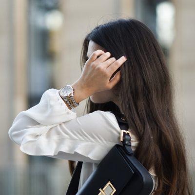 Outfit: Bluse und Strick – die perfekte Kombination im Herbst