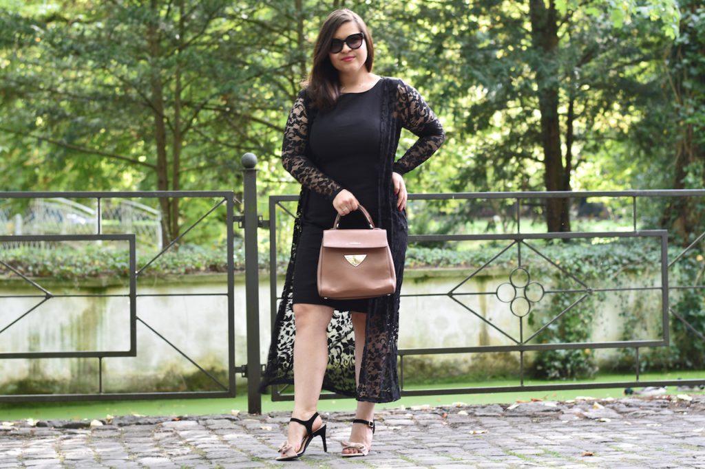 Etuikleid Outfit Sandalen