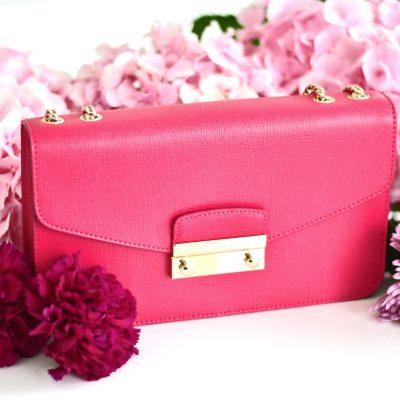 Meine neue Furla Julia Gloss Crossbody – ein Traum in Pink