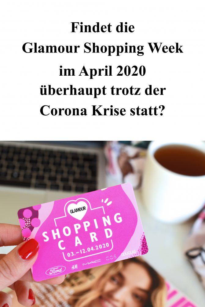 Glamour Shopping Week April 2020 trotz Corona