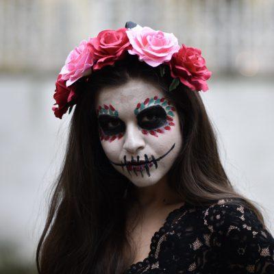 Anleitung: La Catrina selber schminken an Halloween oder Karneval