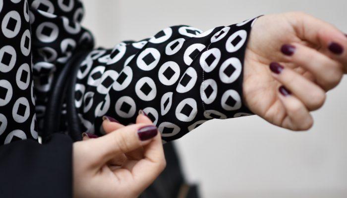 Outfit: die perfekte festliche Bluse – vom Büro direkt zur Weihnachtsfeier