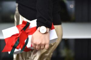 Weihnachtslook mit der NOKIA Steel für mein Carrot's Christmas & Giveaway
