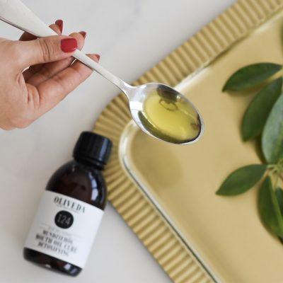 Im Detox-Test am Morgen: das Mundziehöl von Oliveda