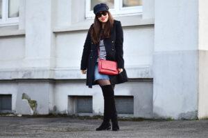 Outfit: Streetstyle mit hohen Stiefeln – Overknees richtig kombinieren