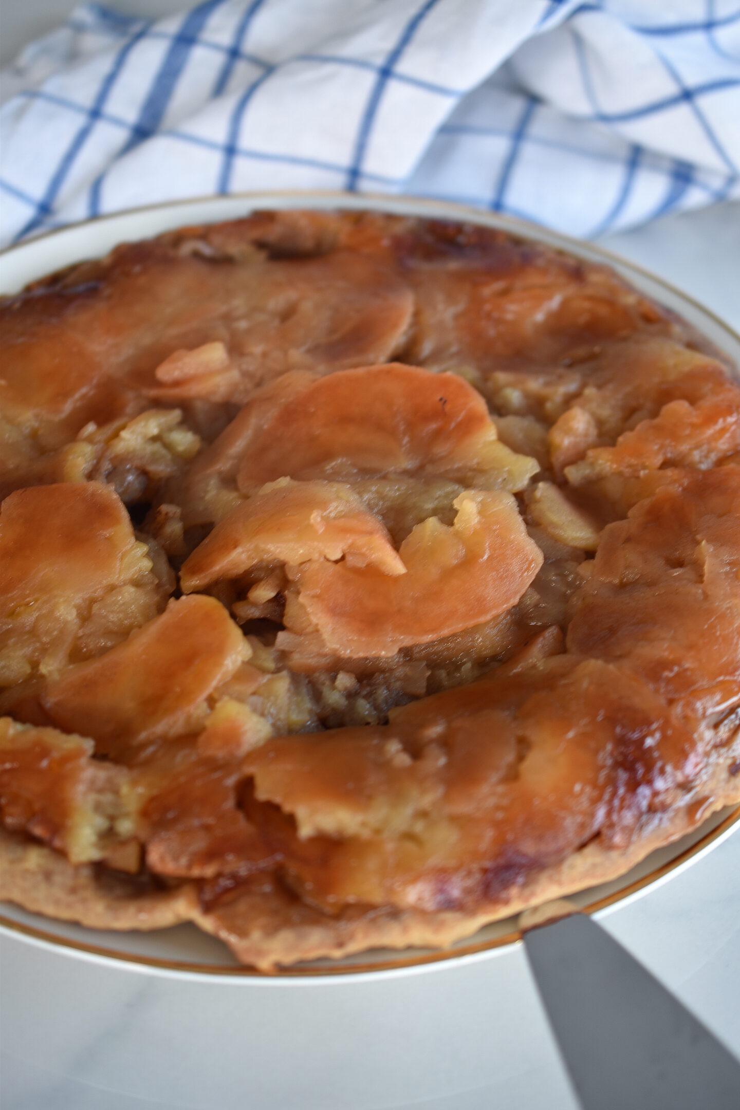 Apfelkuchen nach dem Rezept von Pamela Reifs Mutter