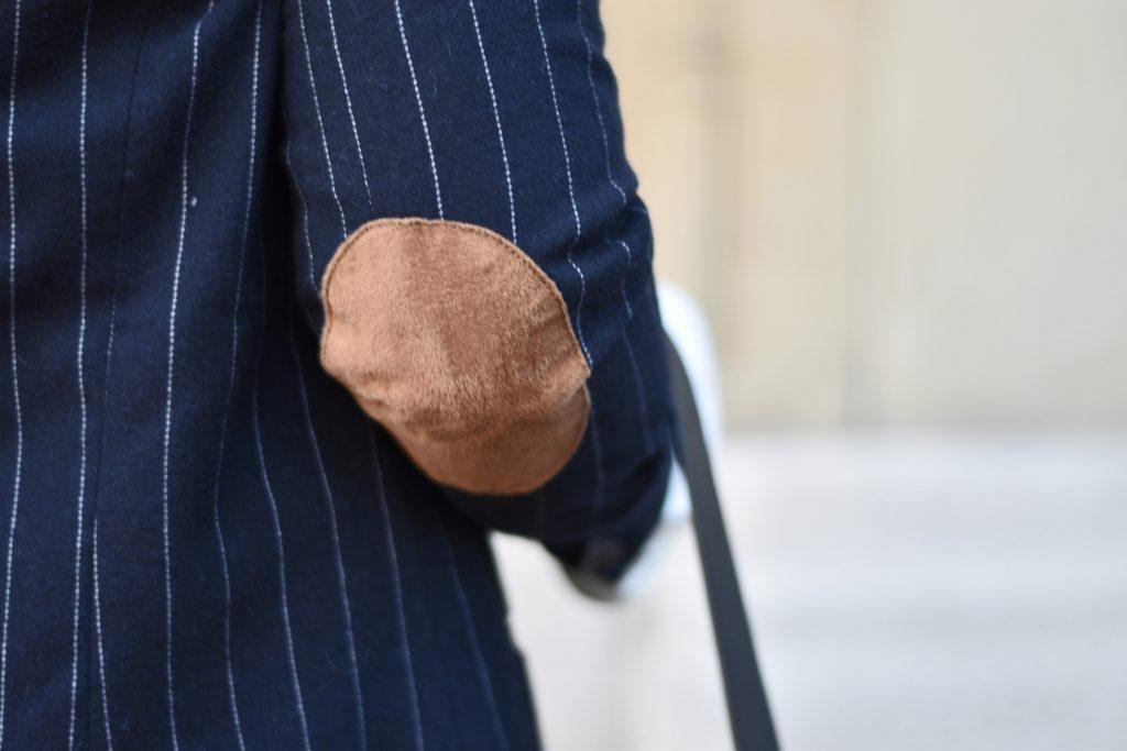 patches-blazer-nadelstreifen