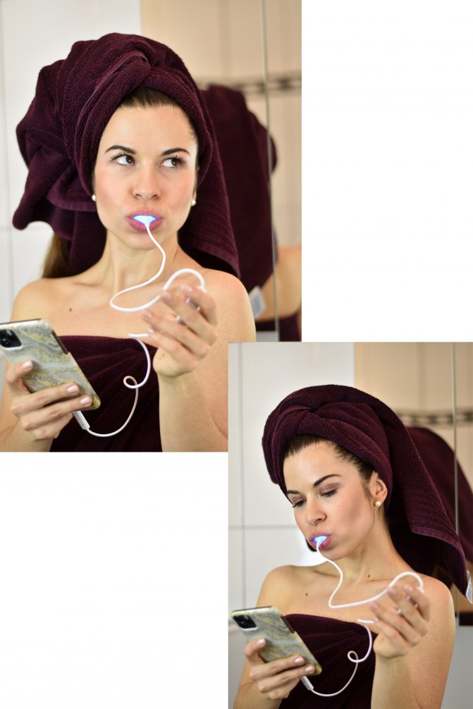 Anwendung Smile Secret Phone Bleaching