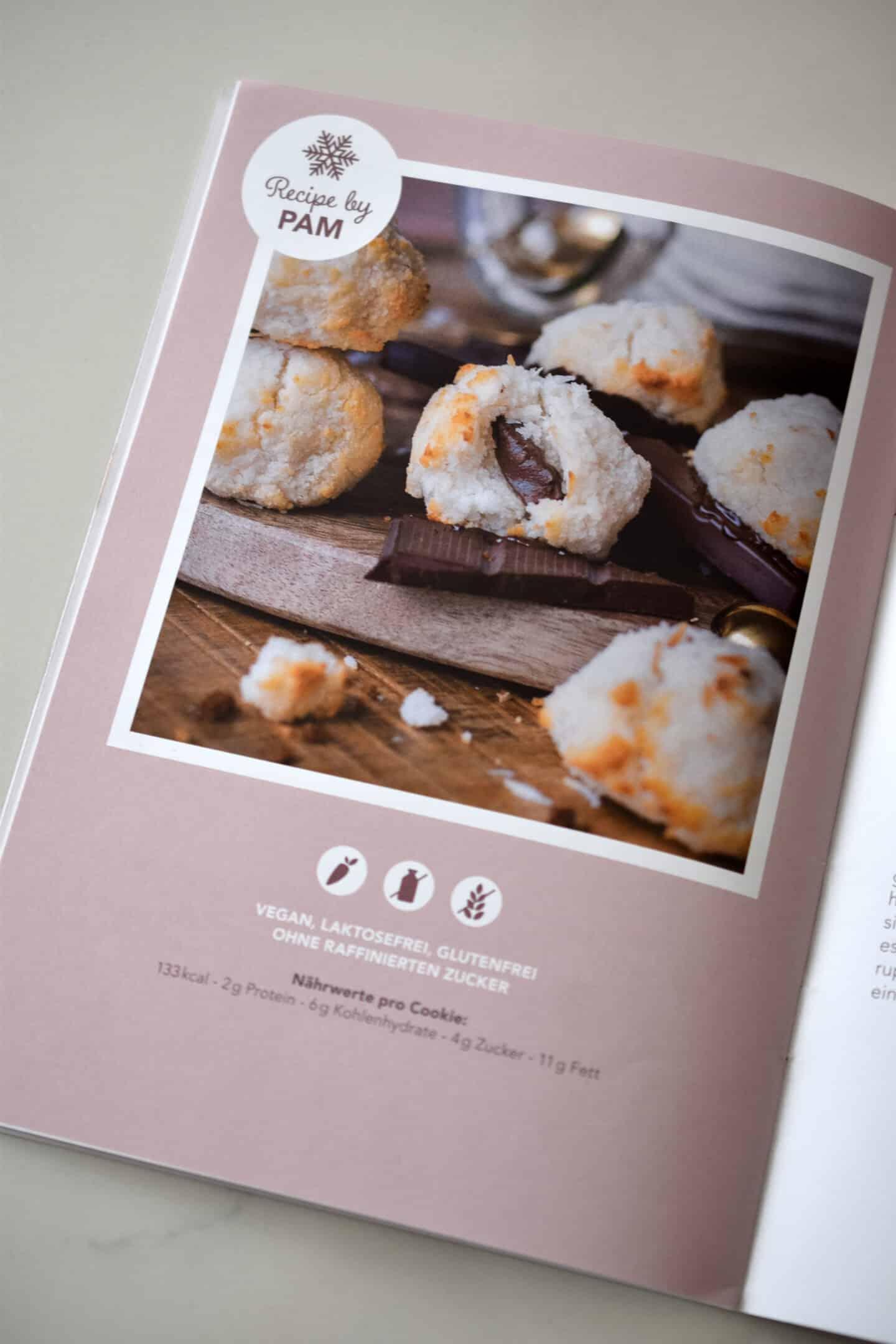 Rezept Booklet Pamela Reif Adventskalender