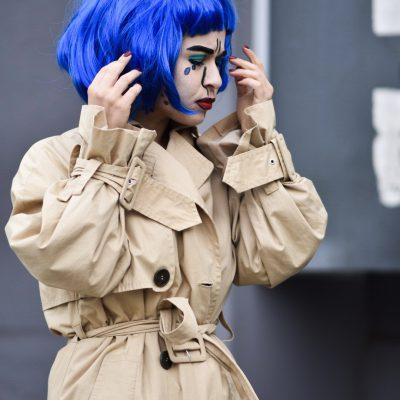 Anleitung: Pop Art Make Up selber schminken für Halloween oder Karneval