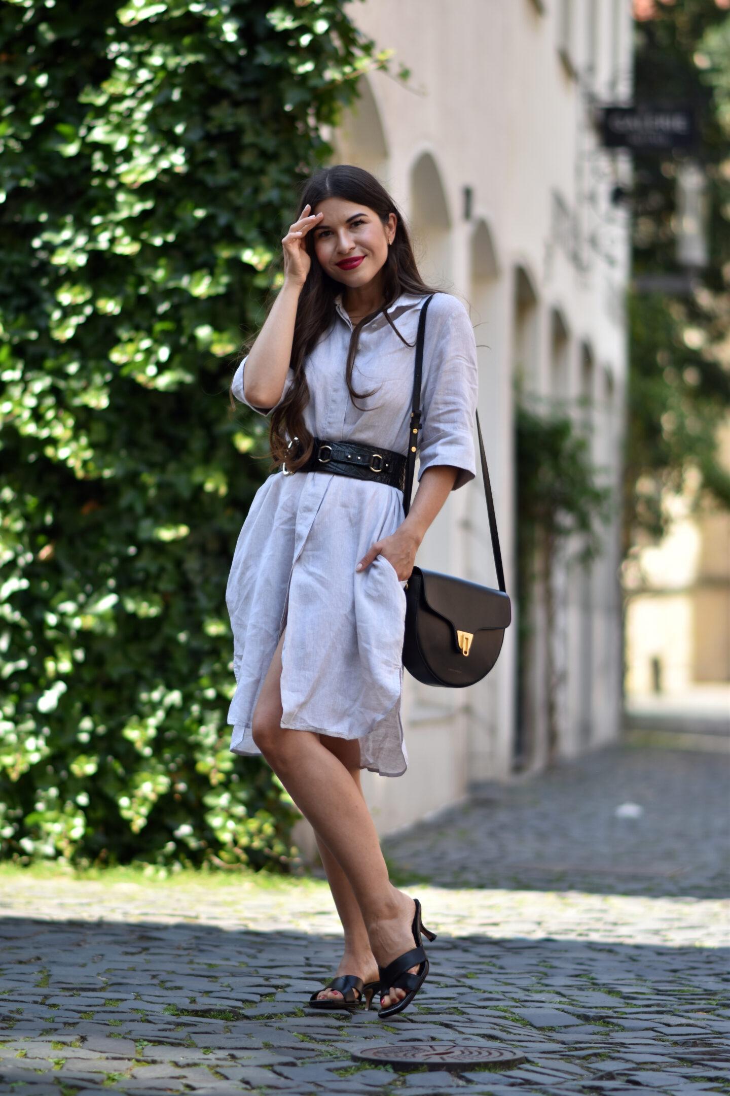 ETERNA Hemdblusenkleid