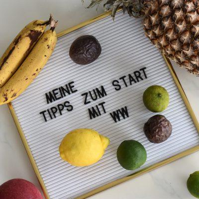 Meine Tipps für den Start mit WW – das neue Weight Watchers