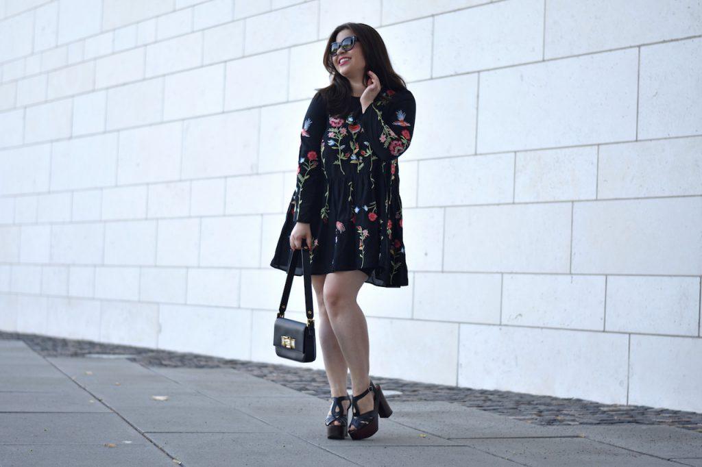 Trendteil Zara Blumen-Kleid