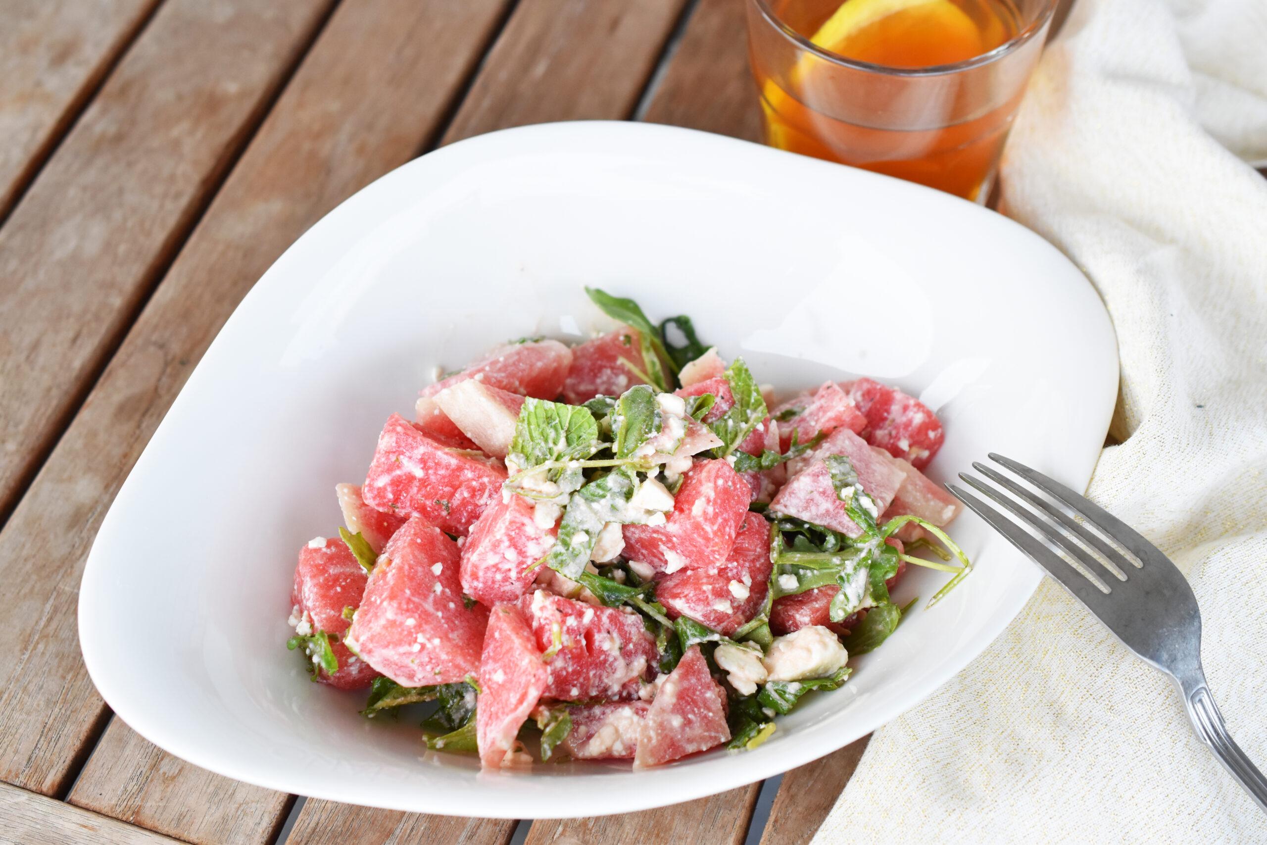 Rezept Wassermelonensalat mit Feta