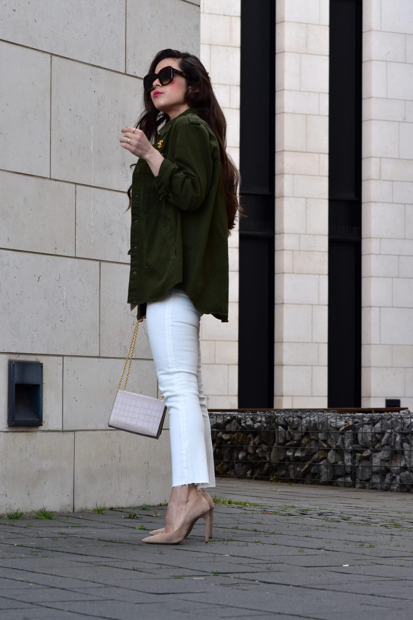 Weiße Jeans Sommerlook