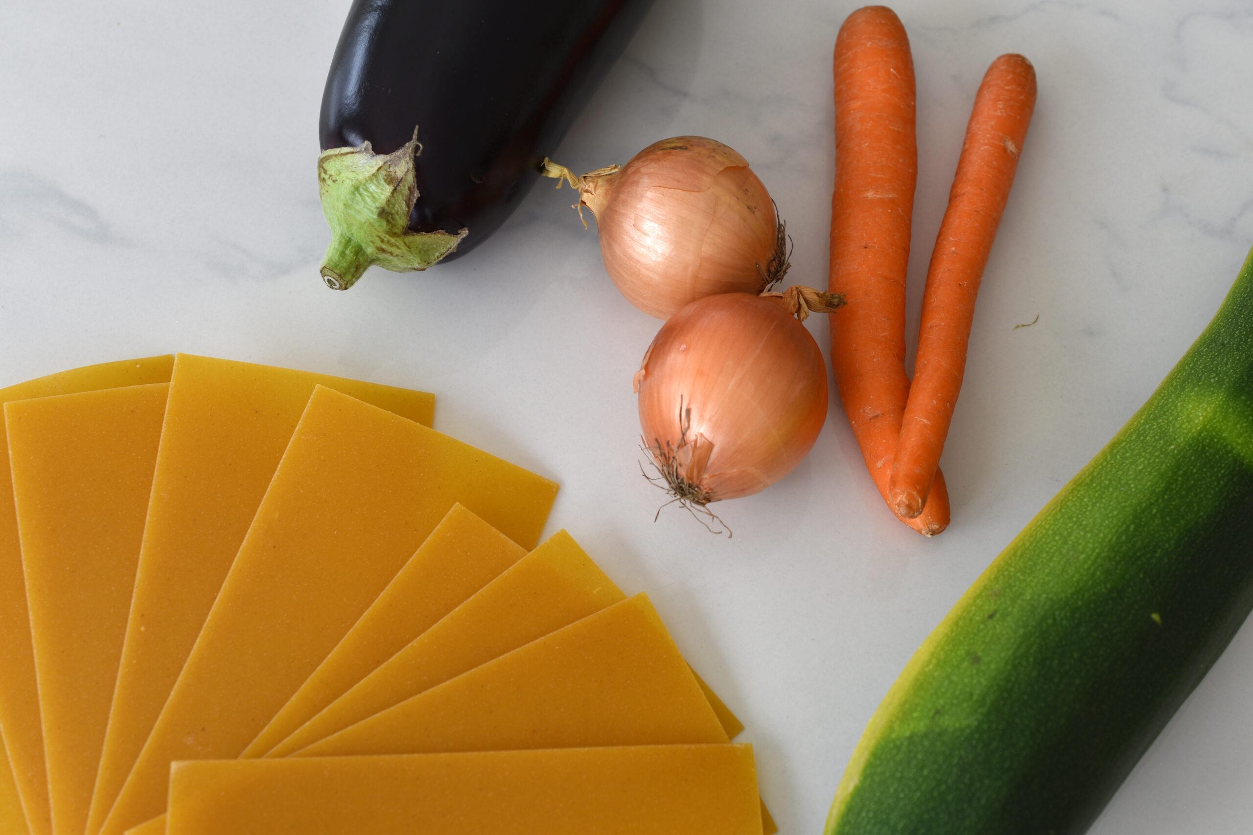 Leicht & Lecker - kalorienarme Lasagne mit mediterranem Gemüse