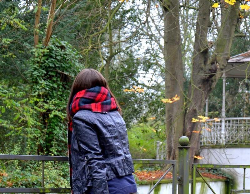 All along it was a feaver – Lederjacke, Karo-Muster und Herbstgefühle