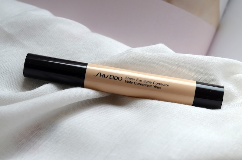 all about my eyes || shiseido sheer eye zone corrector